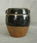 Ming Black Glaze Storage Jar