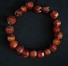 Ancient Chinese Red Agate Beads