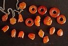 Chinese Carnelian Pendants