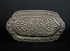 Sri Lanka Silver Trinket Box