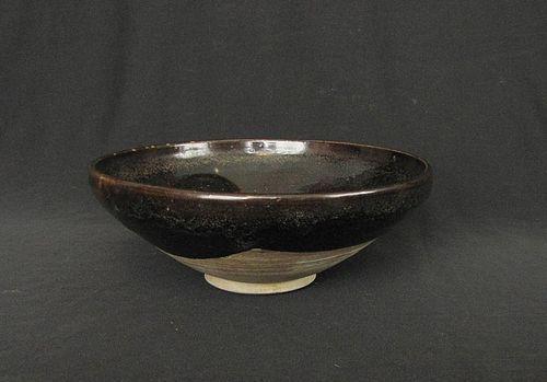 Yaozhou Black Glazed Bowl