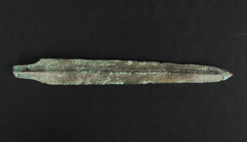 Han Dynasty Gilt Spear