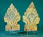 Lanna Thai Temple Furniture Elements