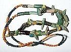 Iranian glass beads