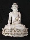 Alabaster Mandalay Buddha