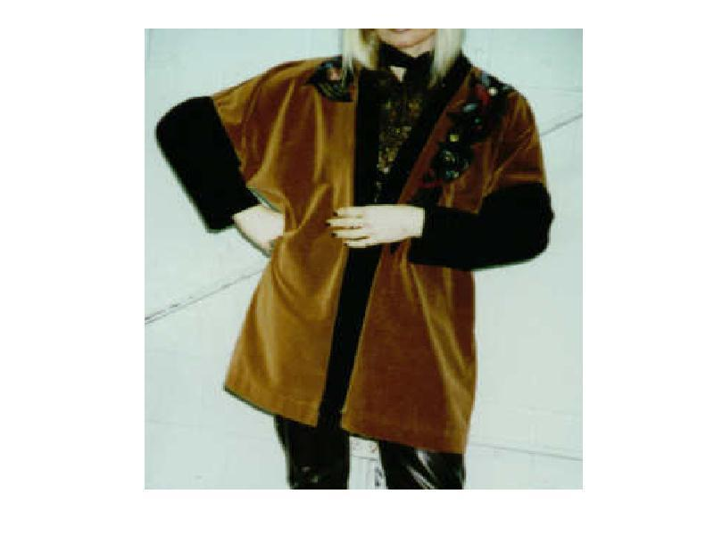 Gallery Art to Wear Coat Kimono Style Signed Original