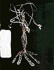 Signed Studio Wrought Sterling Silver Tree Sculpture