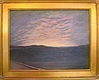 Signed Original American Regional Cape Ann Luminous Acrylic Painting