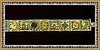 Vintage Hand Painted Persian Sterling Signed Bracelet