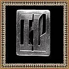 Vintage Mary Gage Arts Crafts Sterling Modern Clip