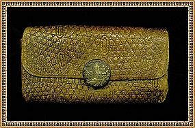 Vintage Antique Victorian Wallet Purse Pat'd 1875