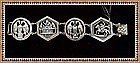 Vintage Gino M Peruzzi Sterling Bracelet Figural Arts