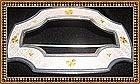 Vintage Antique Watson Sterling Silver Sash Pin Brooch Enamel
