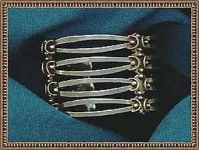 Los Ballesteros Cuff Bracelet Taxco Sterling Silver