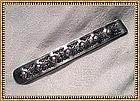 Vintage Arts Crafts Signed Nagele Sterling Silver Clip