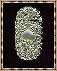 Vintage Art Nouveau Victorian Match Safe Vesta Flip Top Ornate