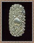 Vintage Art Nouveau Victorian Match Safe Vesta Flip Top Ornate