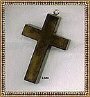 Vintage Green Cross Pendant Austere Spartan Plain Date