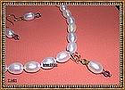 12mm High Luster White Pearls Choker Earrings Mimi Dee