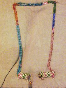 Rare Apache Secret Compartment Necklace