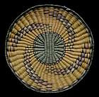 Hopi Polychrome Wicker Tray