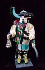 Zuni Longhorn Kachina Doll
