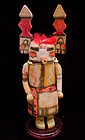 Hopi Tewaquaptewa Kachina w/ Vertical Tableta