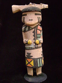 Hopi Bison Maiden Kachina Doll