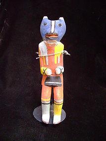 Hopi Kachina Rare Variant (Red Fox Kachina/Chipmunk Kachina)