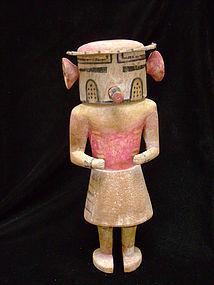 Hopi Polychrome Wood Rügan Kachina Doll