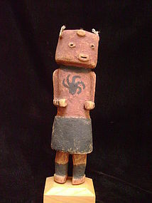 Hopi Koyemsi Mud Head Clown