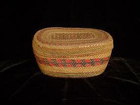 North West Coast Macah Basket
