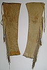 Pair of Comanche Leggings c. 1880-1890