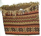Rare Chippewa Wool and Yarn Bag c. 1860-1870