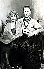 """Harrad and his girl in portland"" Real Photo Postcard"