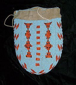 Assinaboine Beaded Bag c.1870