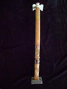 """""""Northwest Coast Model Totem Pole"""""""