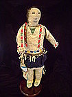 Sioux Beaded and Hide Male Doll