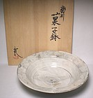 Boxed Kushime Kohiki Serving Bowl