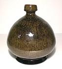 Partridge Feather Broad Bottle/Vase