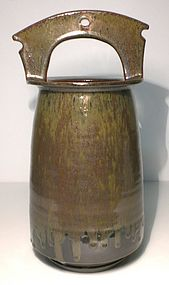 Temmoku and Tetsu-yu Teoke Style Vase