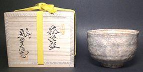 TENRYUZAN HAGI CHAWAN BY KANETA SANZAEMON VII