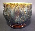 San-Kanji Etched karatsu Style Teabowl (1135tb)