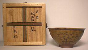 TAKATORI IRABO CHAWAN BY MIRAKU KAMEI