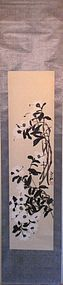 """TEA FLOWERS"" SCROLL BY CHINESE PAINTER QI BAI SHIH"
