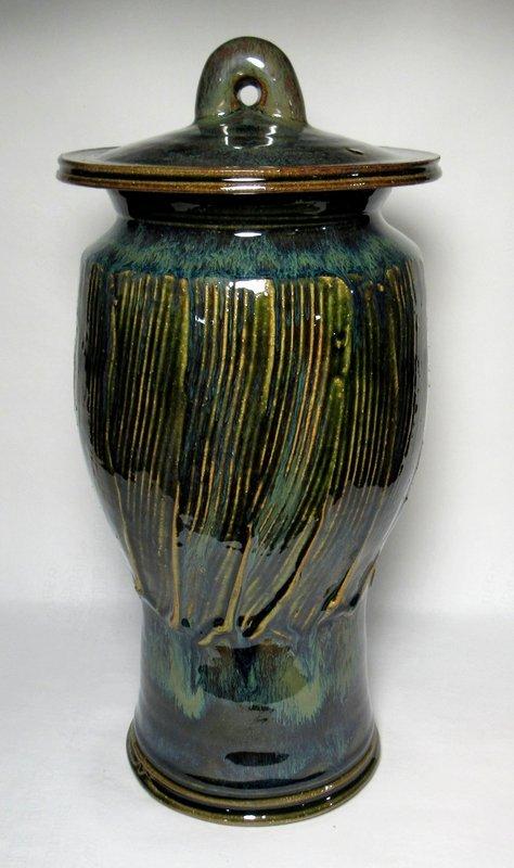ORIBE KUSHIME COVERED JAR