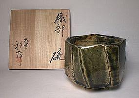Higuchi Masayuki  Oribe Mentori Tabi-chawan