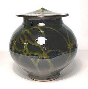 Rozome Ideogram Cap jar