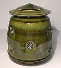 Medieval  Galena Styled Impressed Cap Jar
