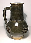Medieval Style Stamped Ao-glazed Jug